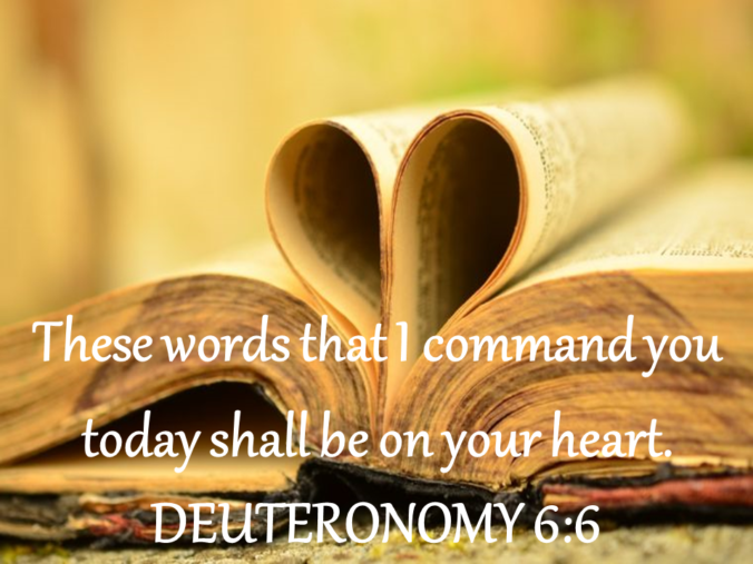 Logo for Deuteronomy 6:6